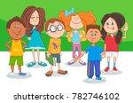 cartoon illustration of... | Shutterstock .eps vector #782746102