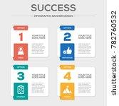 success infographic concept