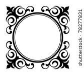 circle ornamental decorative... | Shutterstock .eps vector #78277831