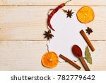 food art concept. composition... | Shutterstock . vector #782779642