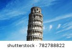 leaning tower of pisa | Shutterstock . vector #782788822