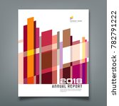 cover annual report abstract... | Shutterstock .eps vector #782791222