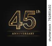 anniversary  aniversary  forty... | Shutterstock .eps vector #782801632