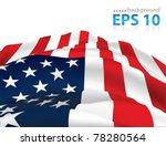american flag background | Shutterstock .eps vector #78280564