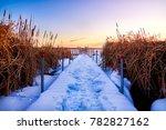 Baileys Harbor Winter Sunrise