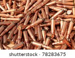 piles of bullets