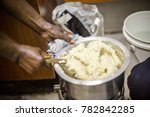 african woman preparing common... | Shutterstock . vector #782842285