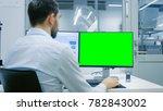 engineer  technician working on ...   Shutterstock . vector #782843002