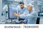 industrial designer has... | Shutterstock . vector #782843005