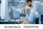 industrial designer has...   Shutterstock . vector #782845456