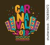 popular event brazil carnival... | Shutterstock .eps vector #782850472