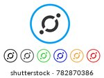 node link rounded icon. style... | Shutterstock .eps vector #782870386