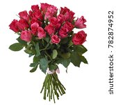 bouquet of different flowers on ... | Shutterstock . vector #782874952