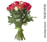 bouquet of different flowers on ... | Shutterstock . vector #782874958