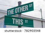"Unusual street names (""The other street"", ""This street"") in Halifax, Nova Scotia, Canada."