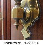 old bronze door knocker | Shutterstock . vector #782911816