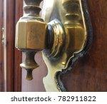 old bronze door knocker | Shutterstock . vector #782911822