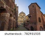 rome  italy   16 december 2017  ...   Shutterstock . vector #782931535