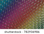 microphone mesh with rainbow...   Shutterstock . vector #782936986