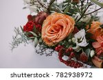 flowers arrangement. bright...   Shutterstock . vector #782938972
