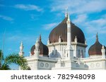the zahir mosque is kedah's... | Shutterstock . vector #782948098