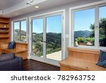 panorama house home with double ... | Shutterstock . vector #782963752