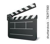 film clap board cinema vector... | Shutterstock .eps vector #78297580