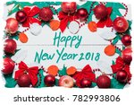 happy new year card  | Shutterstock . vector #782993806