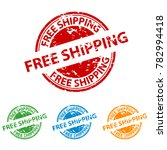 rubber stamp seal   free... | Shutterstock .eps vector #782994418