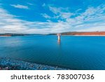 cardinia reservoir lake and... | Shutterstock . vector #783007036