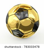 isolated golden metallic 3d... | Shutterstock . vector #783033478