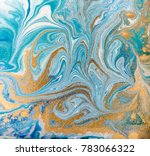 marble abstract acrylic... | Shutterstock . vector #783066322