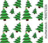 christmas related icon image  | Shutterstock .eps vector #783072226