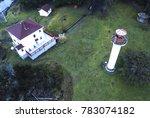 georgina point lighthouse... | Shutterstock . vector #783074182
