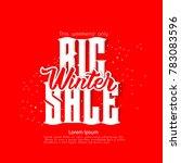 winter sale discount | Shutterstock . vector #783083596
