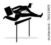 silhouette vector illustration... | Shutterstock .eps vector #783115855