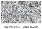 sao paulo brazil city map in... | Shutterstock . vector #783116902