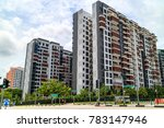 singapore public housing... | Shutterstock . vector #783147946