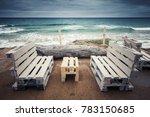 standard white wooden furniture ...   Shutterstock . vector #783150685