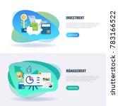 flat concept web banner of... | Shutterstock .eps vector #783166522