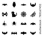 origami style icon set   bat... | Shutterstock .eps vector #783167452