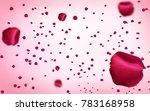 valentines day design ... | Shutterstock . vector #783168958