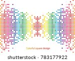 colorful abstract background | Shutterstock .eps vector #783177922