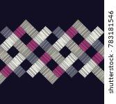 ethnic boho seamless pattern.... | Shutterstock .eps vector #783181546