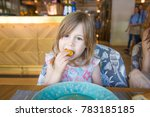 three years old child looking... | Shutterstock . vector #783185185