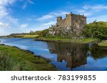 Dunvegan Castle And Harbour On...