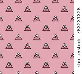 pattern with hearts valentines... | Shutterstock .eps vector #783231328