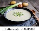 vichyssoise   traditional... | Shutterstock . vector #783231868