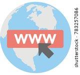 browsing vector icon  | Shutterstock .eps vector #783257086