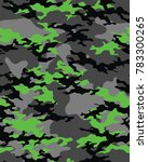 abstract camouflage pattern.... | Shutterstock .eps vector #783300265